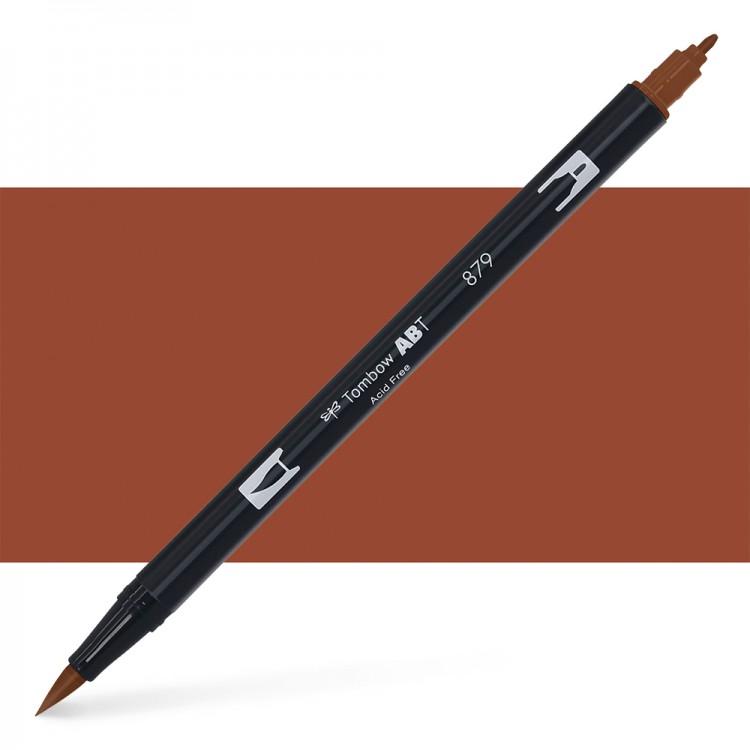 Tombow : Dual Tip Blendable Brush Pen : Brown