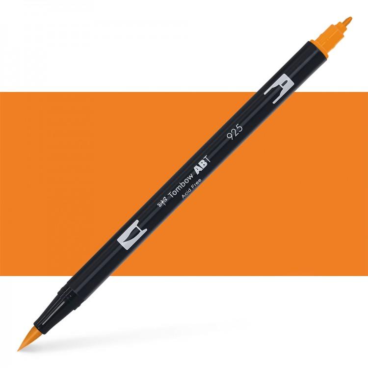 Tombow : Dual Tip Blendable Brush Pen : Scarlet