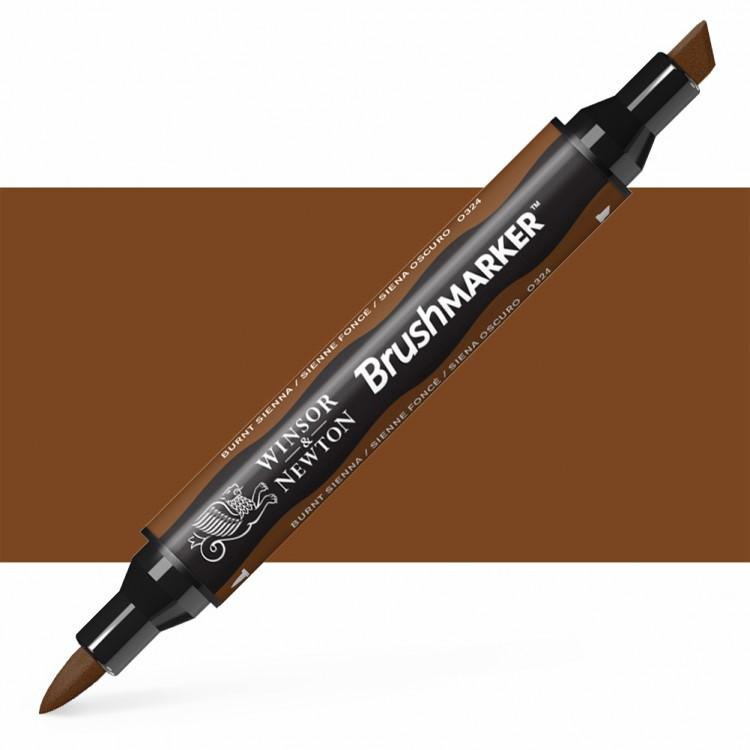 Winsor & Newton : Brush Marker : Burnt Sienna