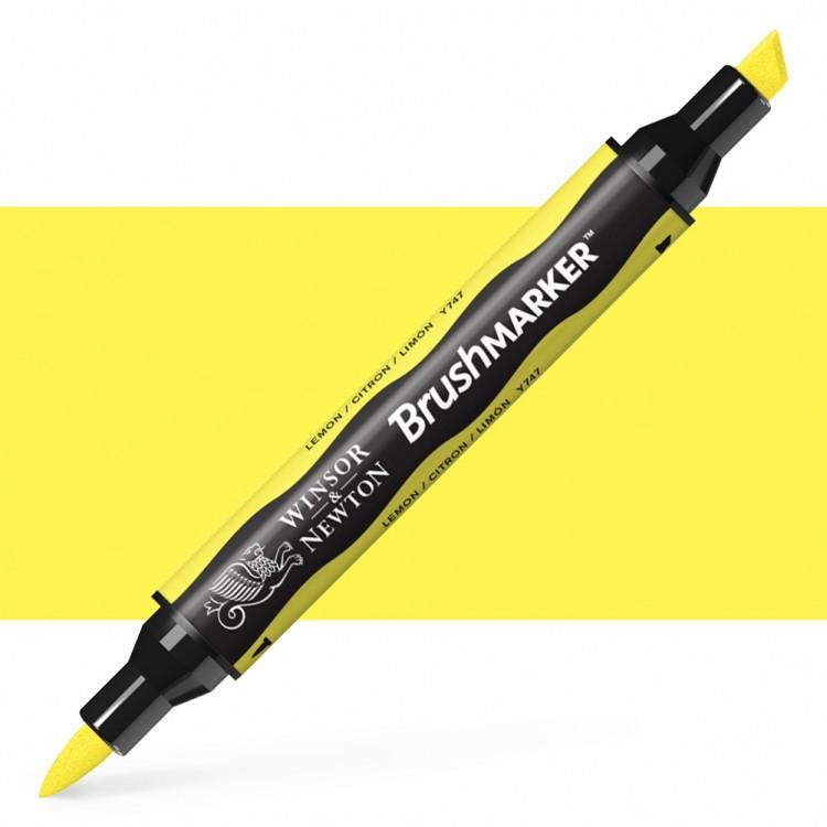 Winsor & Newton : Brush Marker : Lemon
