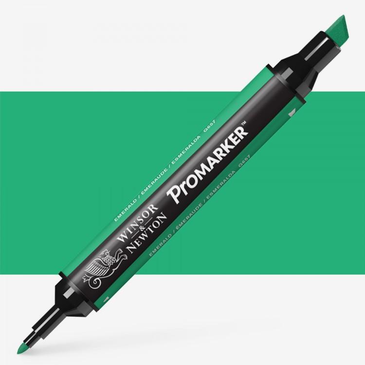 Winsor & Newton : ProMarker : Emerald G657