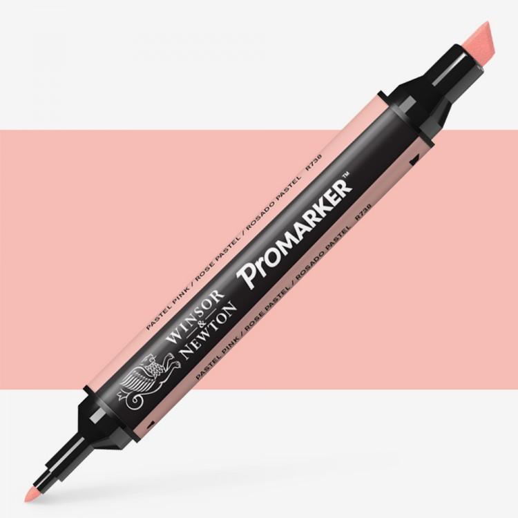 Winsor & Newton : ProMarker : Pastel Pink R738