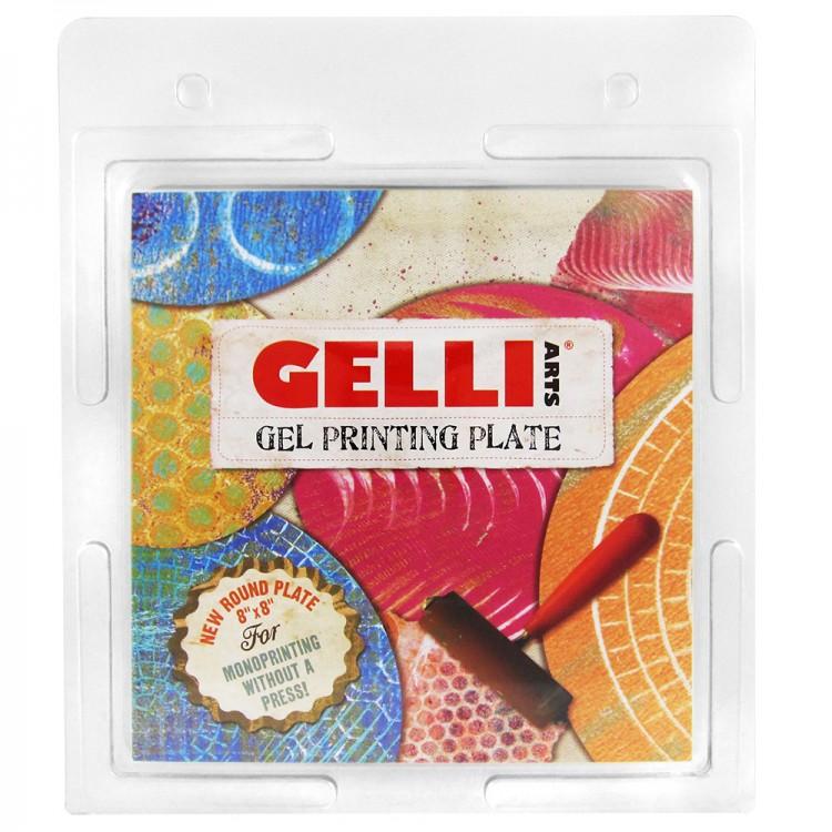 Gelli Plate : Gel Printing Plate : Round 8in Diameter