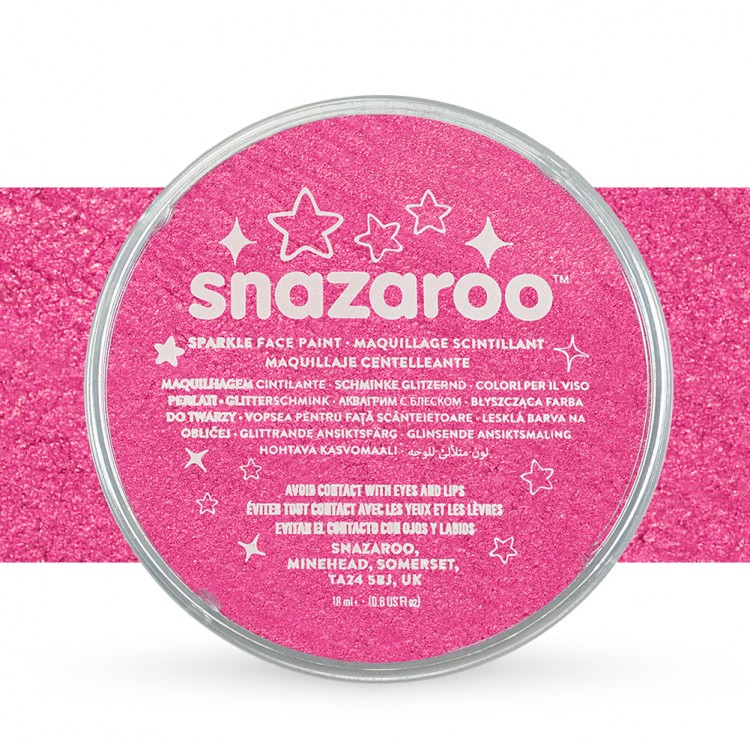 Snazaroo : Face Paints Individual Sparkle Colours 18ml Pink