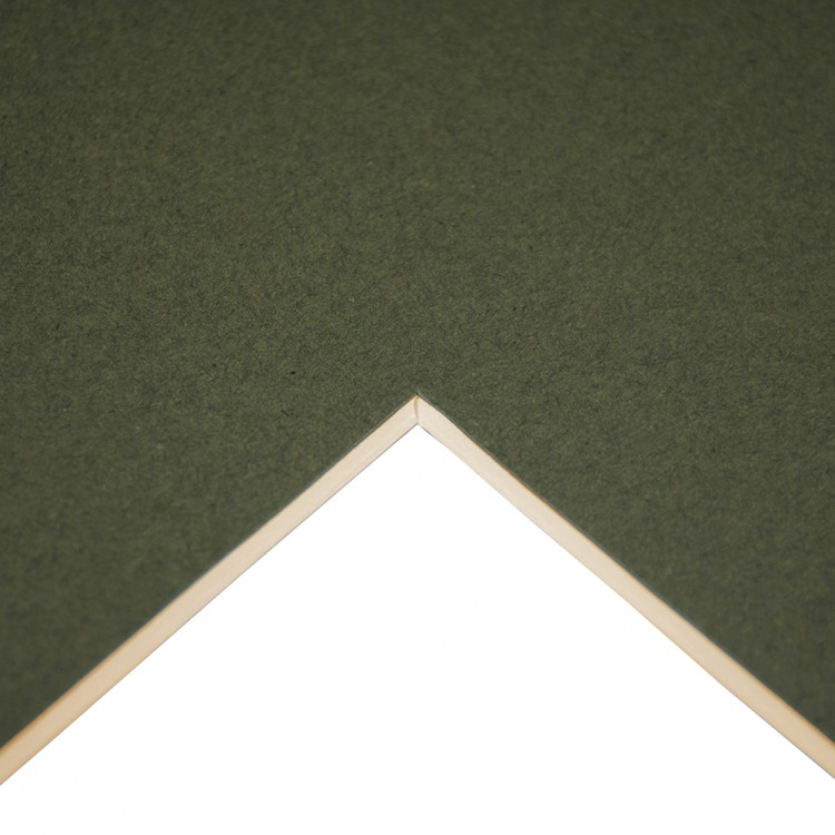 Daler Rowney : Studland Mountboard : A1 : 23x33in : Russian Green : 1043