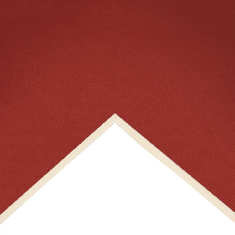 Daler Rowney : Studland Mountboard : A1 : 23x33in : Scarlet : 1048