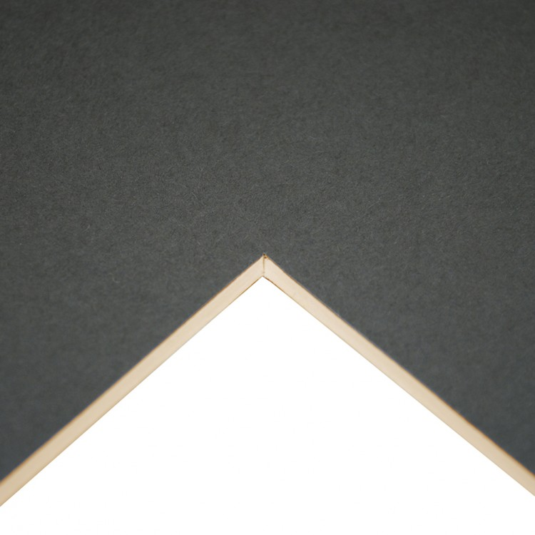 Daler Rowney : Studland Mountboard : A1 : 23x33in : Dark Grey : 1072
