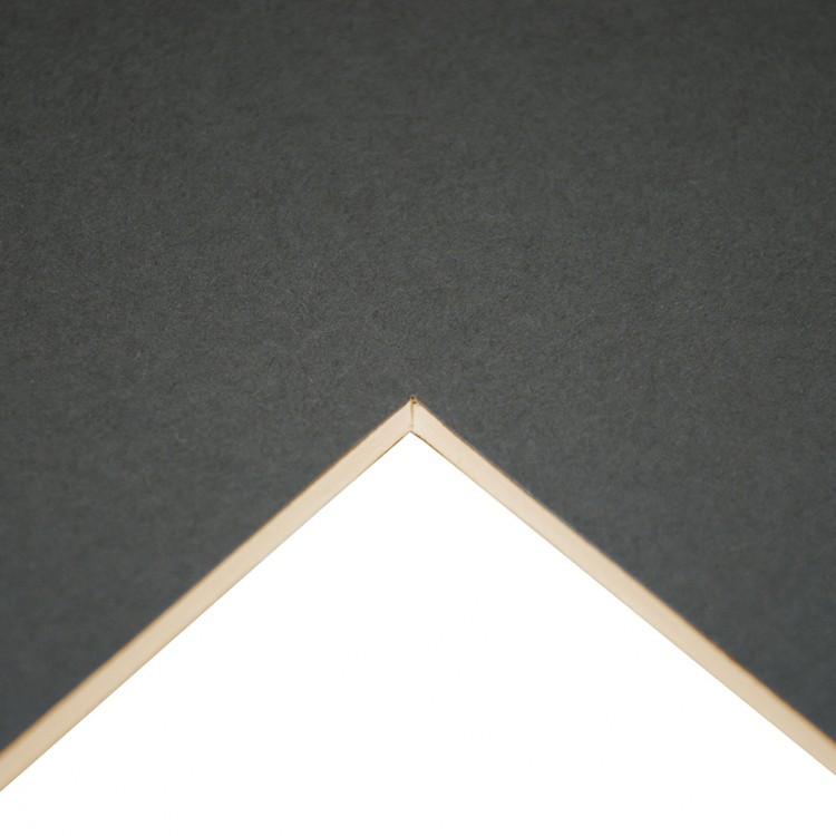 Daler Rowney : Studland Mountboard : A1 : 23x33in : Dark Grey : 1072