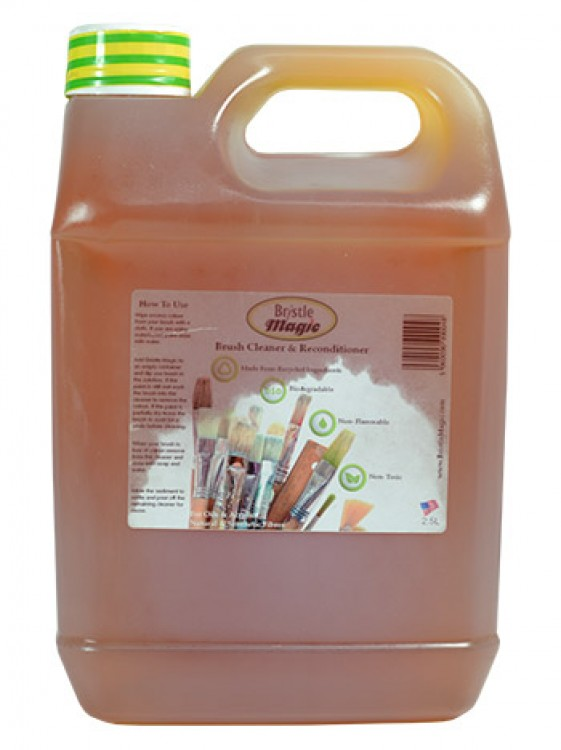 Bristle Magic : Brush Cleaner And Reconditioner 2.5L (By Road Parcel Only)