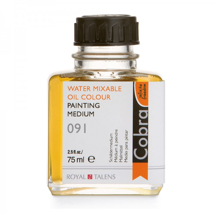 Talens : Cobra Water Mixable Oil Painting Medium : 75ml