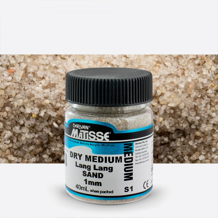 Derivan : Matisse Dry Medium : 40ml : Lang Lang Sand : 1mm