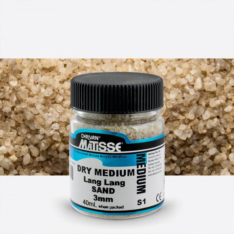 Derivan : Matisse Dry Medium : 40ml : Lang Lang Sand : 3mm