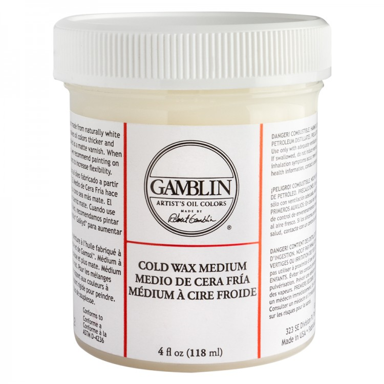 Gamblin : Cold Wax Oil Painting Medium : 118ml : Ship By Road Only