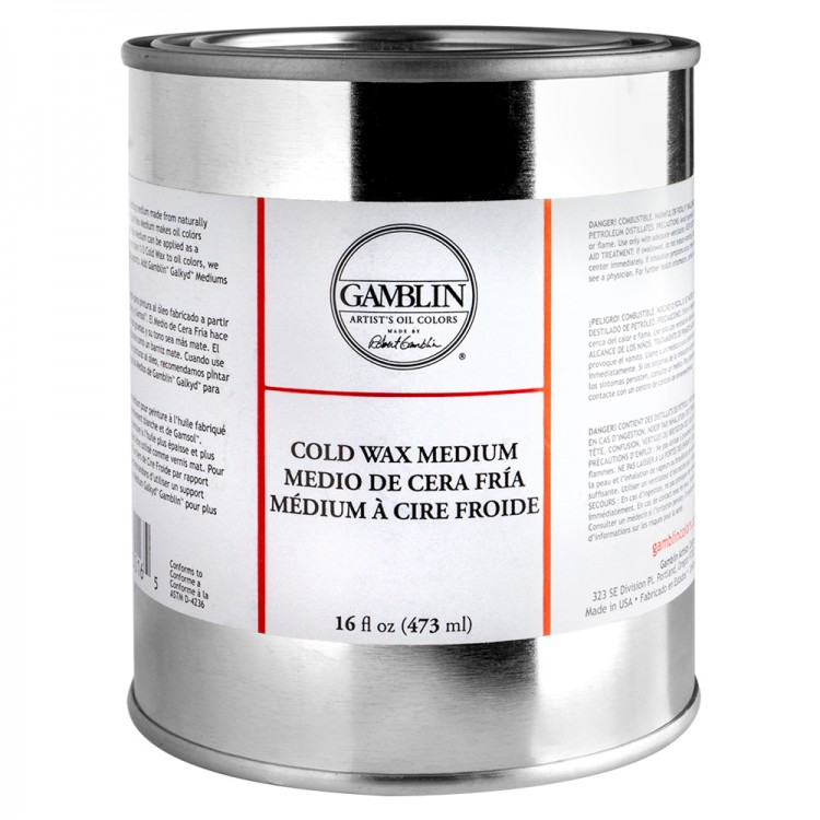 Gamblin : Cold Wax Oil Painting Medium : 473ml