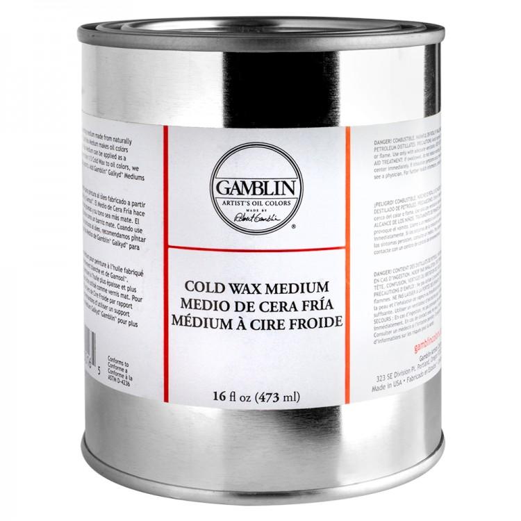 Gamblin : Cold Wax Oil Painting Medium : 473ml