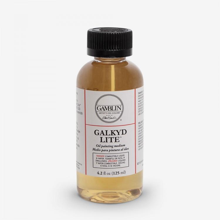 Gamblin : Galkyd Lite Oil Painting Medium : 125ml : By Road Parcel Only