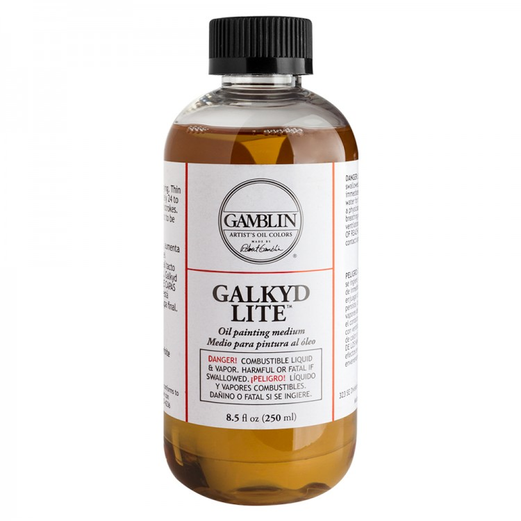 Gamblin : Galkyd Lite Oil Painting Medium : 250ml : By Road Parcel Only