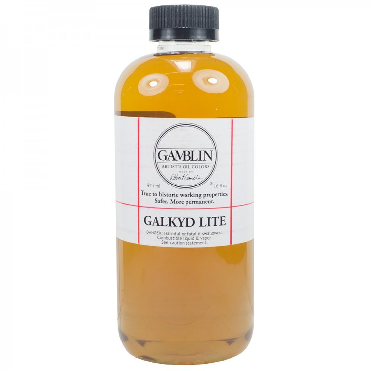 Gamblin : Galkyd Lite Oil Painting Medium : 500ml : By Road Parcel Only