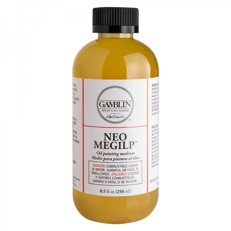 Gamblin : Neo Megilp Soft Gel Oil Painting Medium : 250ml