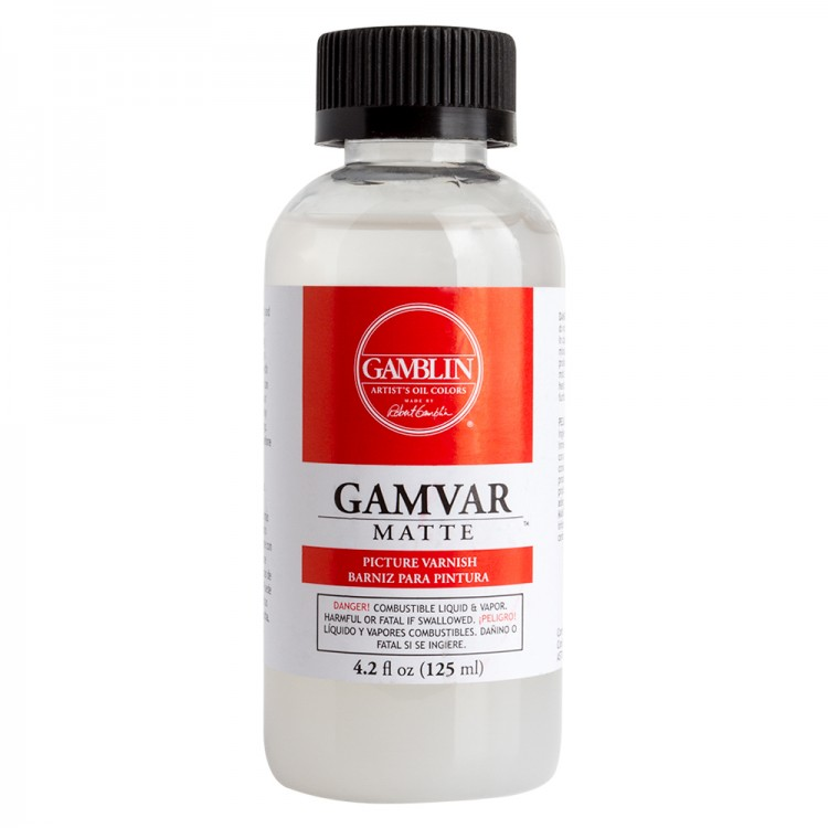 Gamblin : Gamvar Picture Varnish : Matte : 125ml : By Road Parcel Only