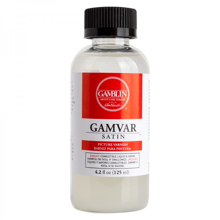 Gamblin : Gamvar Picture Varnish : Satin : 125ml : By Road Parcel Only