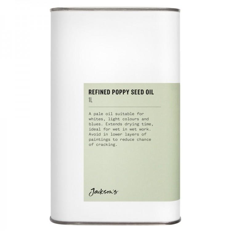 Jackson's : Refined Poppy Seed Oil : 1 Litre