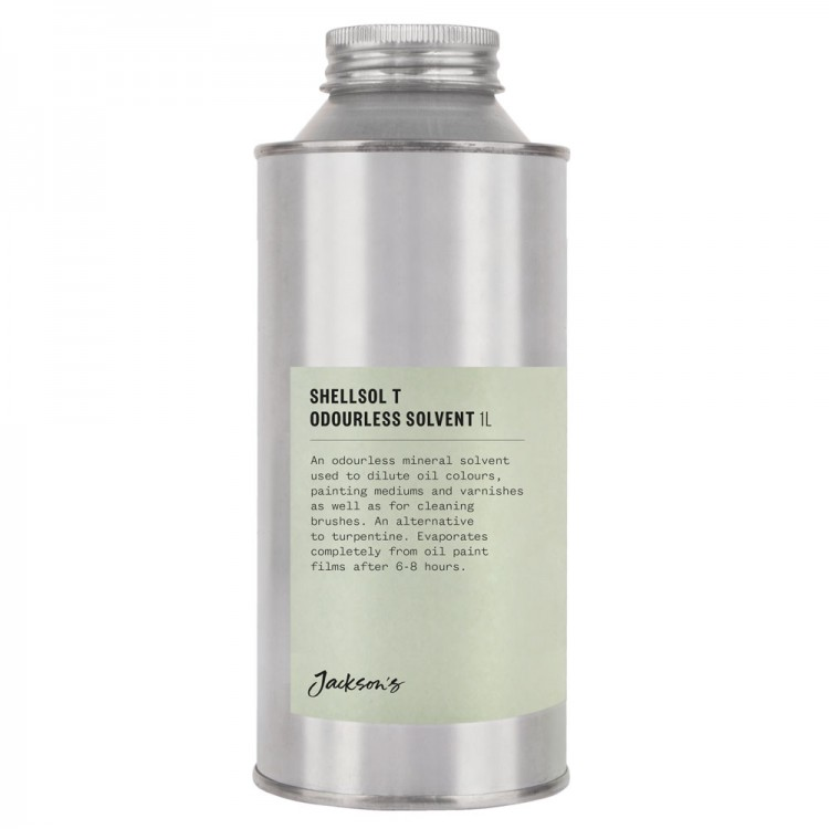 Jackson's : Shellsol T : Odourless Solvent : 1000ml : Ship By Road Only