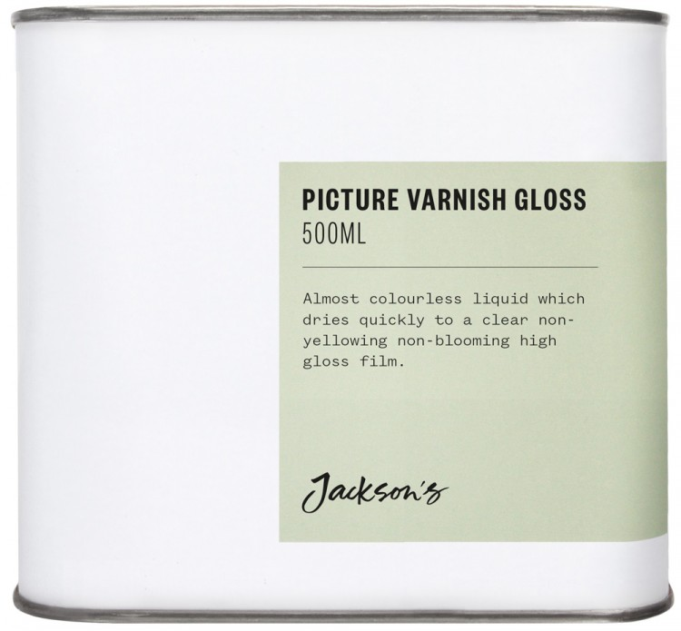 Jackson's : Picture Varnish Gloss 500ml : By Road Parcel Only