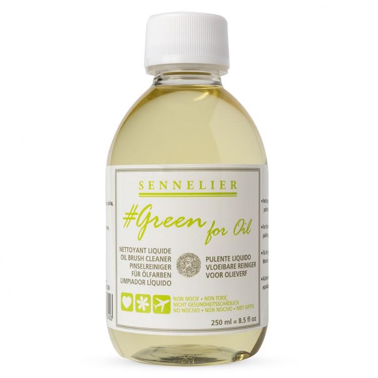 Sennelier : Green For Oil : Brush Cleaner : 250ml