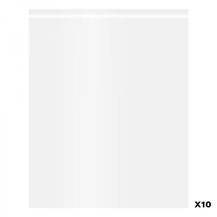 Jackson's : Self-Seal Polypropylene Bag : Pack of 10 : 16x20in