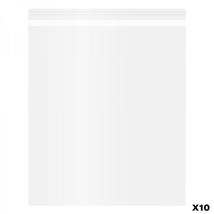 Jackson's : Self-Seal Polypropylene Bag : Pack of 10 : 8x10in