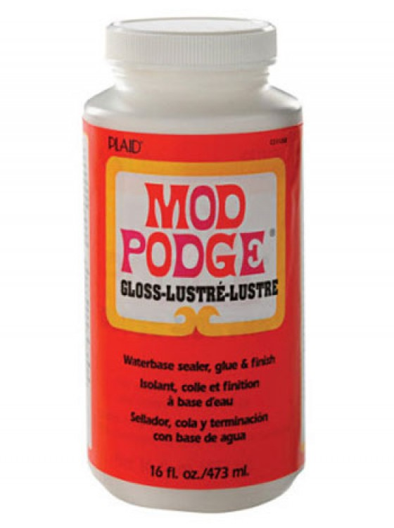 Mod Podge : Decoupage Glue and Finish : Gloss : 16oz : 473ml