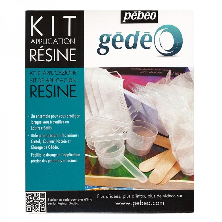 Pebeo : Resins Application Kit
