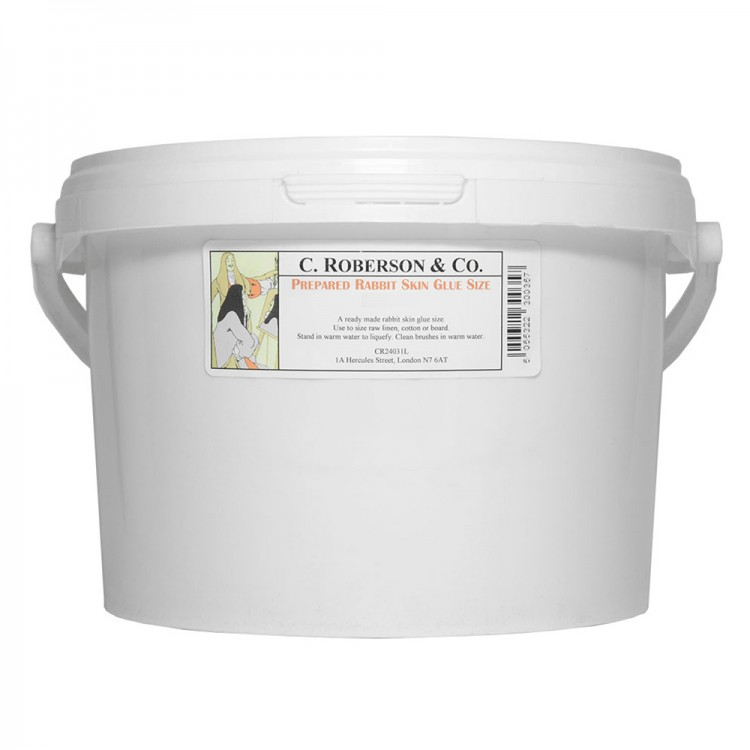 Roberson: Prepared Rabbit Skin Glue : 2.5 Litre : By Road Parcel Only