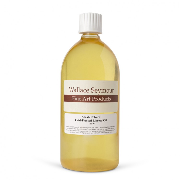 Wallace Seymour : Alkali Refined Cold Pressed Linseed Oil :1000ml
