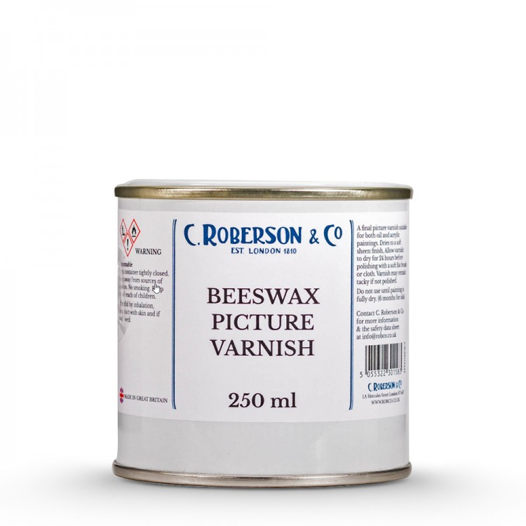 Roberson : Beeswax Picture Varnish : 250ml : By Road Parcel Only
