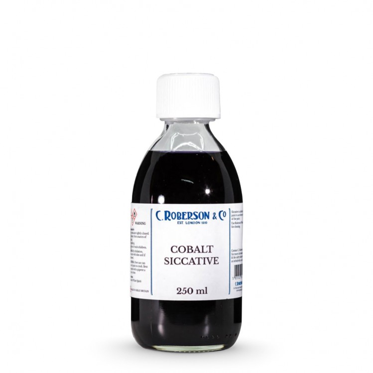 Roberson : Cobalt Siccative : 250ml : Ship By Road Only