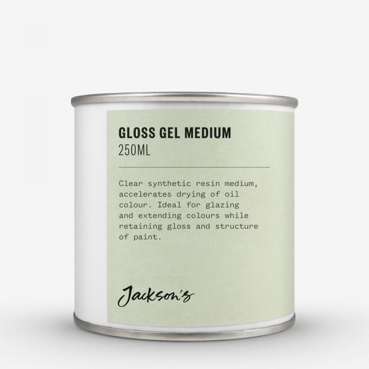 Jackson's : Gloss Gel Medium : 250ml Oil Colour Medium *Haz*