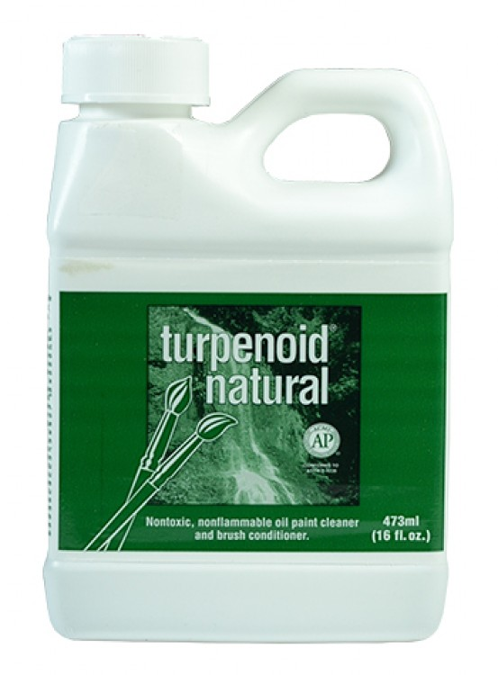 Turpenoid Natural Brush Cleaner : 473ml Tin