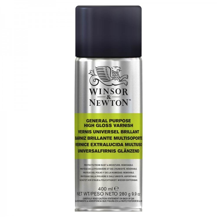Winsor & Newton : General Purpose Spray : 400ml : Gloss : By Road Parcel Only