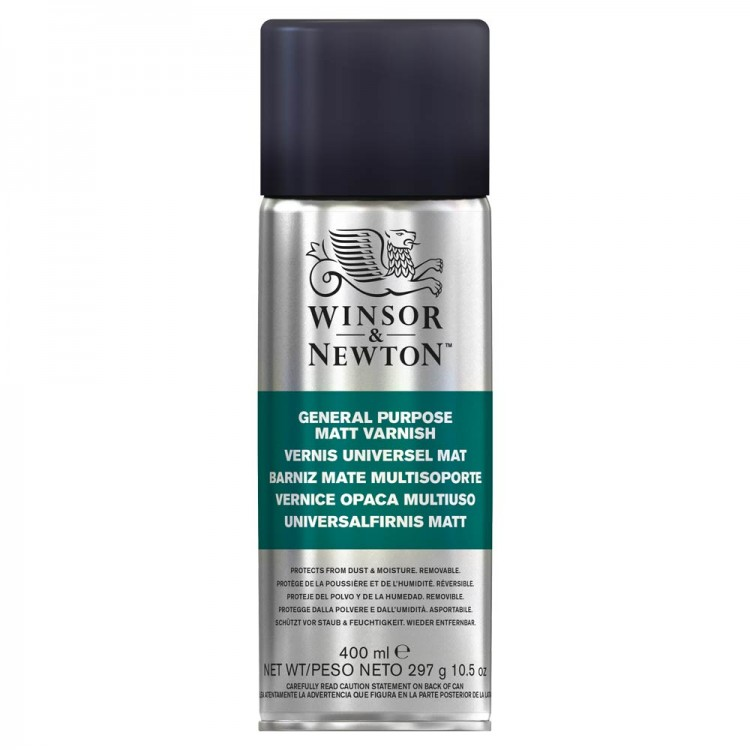 Winsor & Newton : General Purpose Spray : 400ml : Matt : By Road Parcel Only