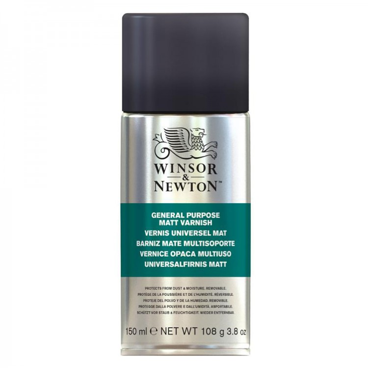Winsor & Newton : General Purpose Spray : 150ml : Matt : By Road Parcel Only