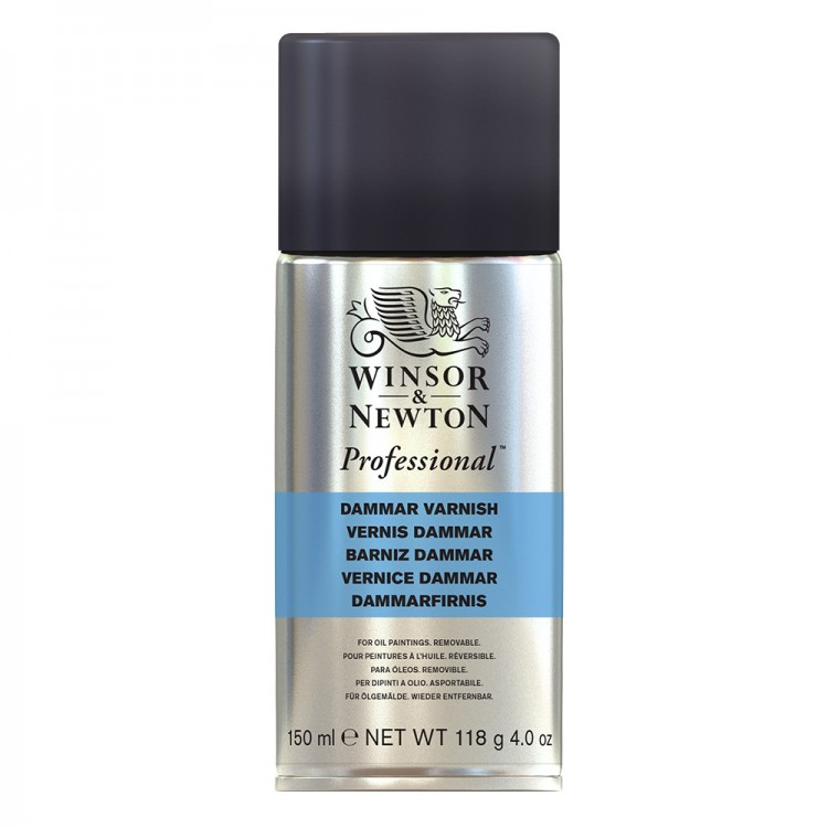 Winsor & Newton : Artists Varnish Spray Dammar : 150ml : By Road Parcel Only