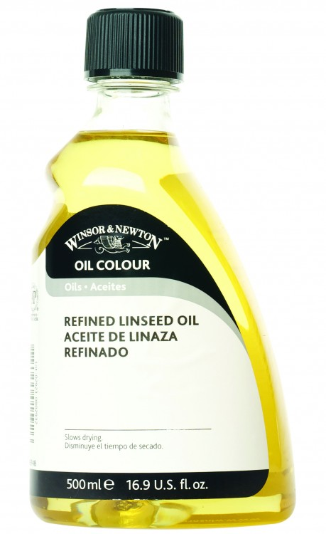Winsor & Newton : Refined Linseed Oil : 500ml
