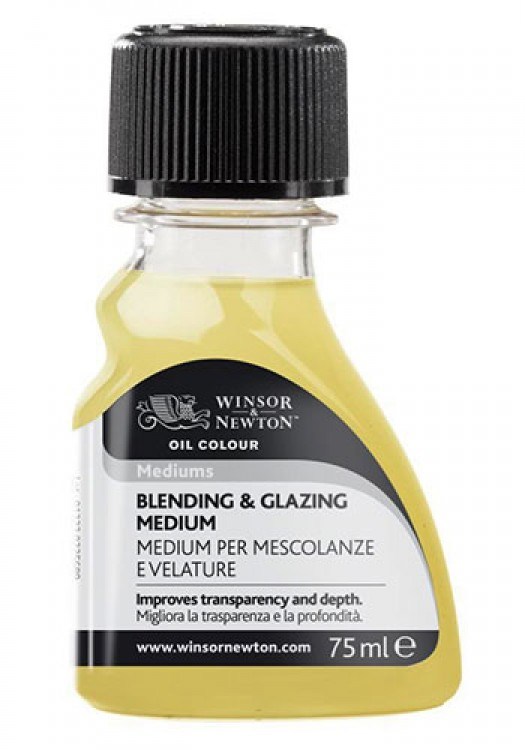 W&N : Artist Blending & Glazing Medium: 75ml : Ship By Road Only