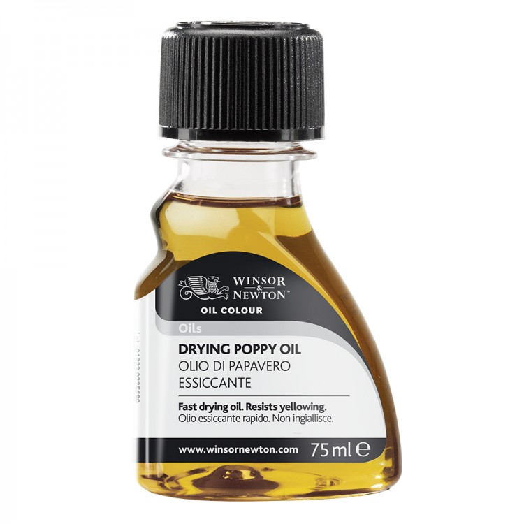 Winsor & Newton : Drying Poppy Oil : 75ml