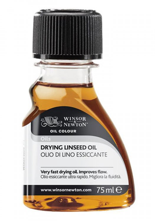 Winsor & Newton : Artist Drying Linseed Oil : 75ml
