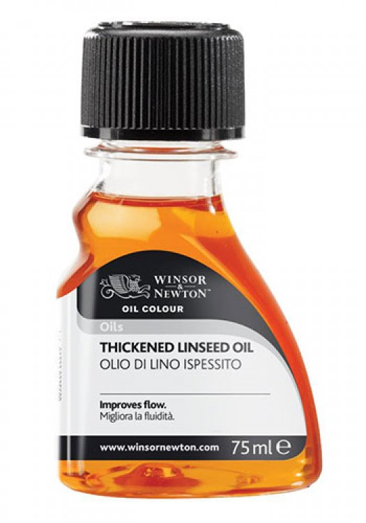 Winsor & Newton : 75ml : Artists Thickened Linseed Oil