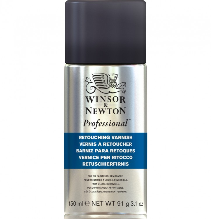 Winsor & Newton : Retouching Spray Varnish : 150ml