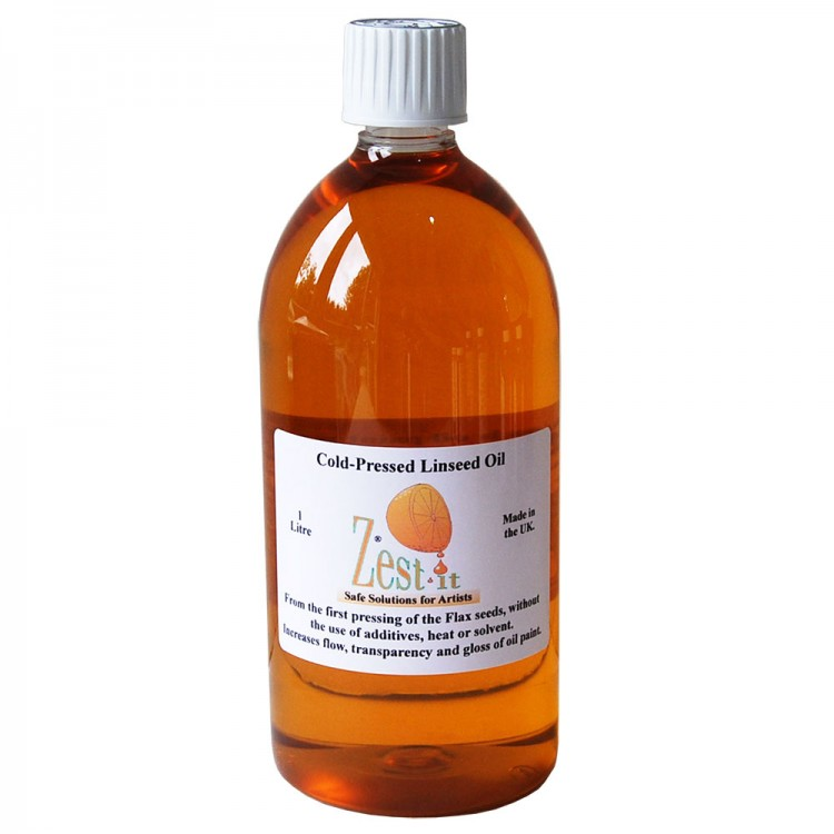 Zest It : Cold Pressed Linseed Oil : 1000ml
